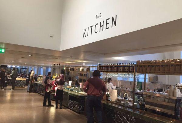 Кафе в красной зоне музея