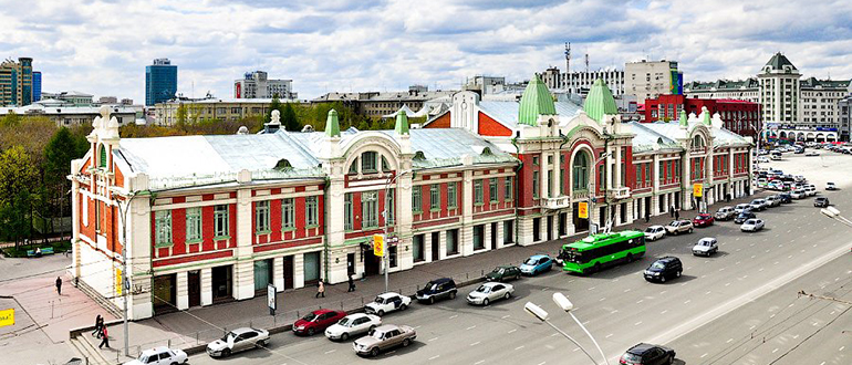 Краеведческий музей Новосибирск